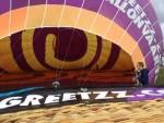 Super luchtballonvaart vanaf startveld Ommen op vrijdag 31 augustus 2018