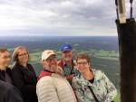 Mooie ballonvaart gestart in Ommen op vrijdag 31 augustus 2018
