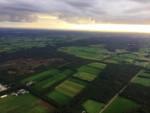 Fascinerende heteluchtballonvaart vanaf startlocatie Ommen op vrijdag 31 augustus 2018
