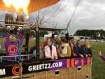 Voortreffelijke ballonvaart vanaf opstijglocatie Ommen op vrijdag 31 augustus 2018