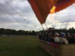 Waanzinnige ballonvaart omgeving Ommen op vrijdag 31 augustus 2018