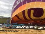 Grandioze luchtballon vaart regio Ommen op vrijdag 31 augustus 2018