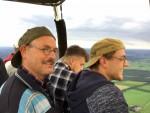 Majestueuze heteluchtballonvaart over de regio Ommen op vrijdag 31 augustus 2018
