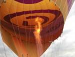 Professionele luchtballon vaart startlocatie Ommen op vrijdag 31 augustus 2018