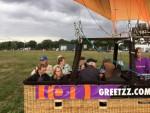 Uitzonderlijke heteluchtballonvaart vanaf startlocatie Ommen op vrijdag 31 augustus 2018