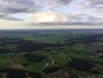 Adembenemende luchtballonvaart vanaf opstijglocatie Ommen op vrijdag 31 augustus 2018