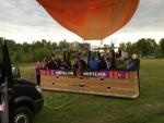 Fantastische luchtballonvaart gestart op opstijglocatie Venray op vrijdag 31 augustus 2018