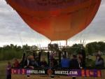 Adembenemende ballonvlucht opgestegen in Venray op vrijdag 31 augustus 2018