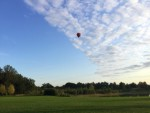 Professionele ballonvaart opgestegen op startlocatie Vught op vrijdag 31 augustus 2018