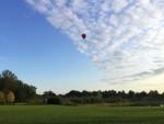 Voortreffelijke heteluchtballonvaart vanaf opstijglocatie Vught op vrijdag 31 augustus 2018