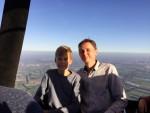 Grandioze ballon vaart startlocatie Oosterhout op vrijdag 5 oktober 2018