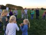 Fabuleuze heteluchtballonvaart opgestegen op startlocatie Oosterhout op vrijdag 5 oktober 2018