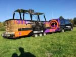 Waanzinnige luchtballonvaart in de omgeving van Oosterhout op vrijdag 5 oktober 2018