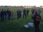 Waanzinnige ballon vlucht opgestegen op opstijglocatie Oss op vrijdag  5 oktober 2018