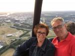 Relaxte heteluchtballonvaart in de omgeving van Colmschate vrijdag  6 juli 2018