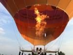 Magnifieke heteluchtballonvaart gestart in Nederweert vrijdag  6 juli 2018