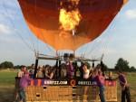 Spectaculaire luchtballon vaart in Nederweert vrijdag  6 juli 2018