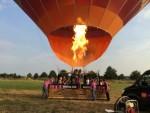 Verbluffende luchtballon vaart opgestegen in Nederweert vrijdag  6 juli 2018