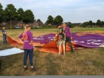 Ongekende ballon vlucht vanaf startveld Nederweert vrijdag  6 juli 2018