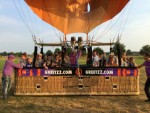 Indrukwekkende ballon vlucht opgestegen op startlocatie Nederweert vrijdag  6 juli 2018