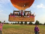 Mooie ballon vaart startlocatie Nederweert vrijdag  6 juli 2018
