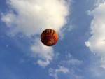 Weergaloze ballonvlucht opgestegen op startlocatie Nederweert vrijdag  6 juli 2018