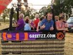 Perfecte luchtballon vaart vanaf opstijglocatie Tilburg vrijdag 6 juli 2018