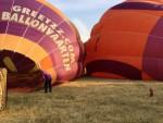 Heerlijke luchtballonvaart opgestegen in Tilburg vrijdag 6 juli 2018