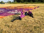 Feestelijke luchtballon vaart regio Tilburg vrijdag 6 juli 2018