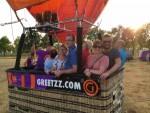 Verrassende heteluchtballonvaart opgestegen op startlocatie Tilburg vrijdag 6 juli 2018