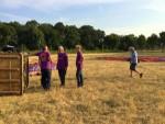 Super ballon vaart opgestegen op startveld Tilburg vrijdag 6 juli 2018