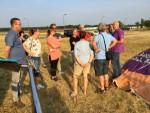 Relaxte luchtballonvaart in de buurt van Tilburg vrijdag 6 juli 2018