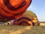 Exceptionele luchtballonvaart omgeving Tilburg vrijdag 6 juli 2018