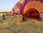 Magnifieke luchtballonvaart opgestegen op startveld Tilburg vrijdag 6 juli 2018