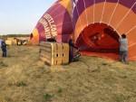 Waanzinnige ballonvaart in de buurt van Tilburg vrijdag 6 juli 2018
