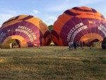 Verbluffende luchtballonvaart in de buurt van Tilburg vrijdag 6 juli 2018