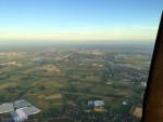 Professionele ballon vlucht boven de regio Veenendaal vrijdag 6 juli 2018