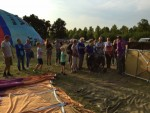 Verrassende luchtballonvaart regio Veenendaal vrijdag  6 juli 2018