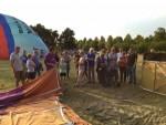 Uitzonderlijke ballon vaart opgestegen op opstijglocatie Veenendaal vrijdag  6 juli 2018