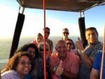 Buitengewone ballonvaart boven de regio Veenendaal vrijdag  6 juli 2018