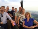 Indrukwekkende ballon vaart omgeving Veenendaal vrijdag 6 juli 2018