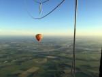 Bijzondere ballonvlucht in de omgeving van Veenendaal vrijdag  6 juli 2018