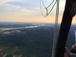 Majestueuze ballonvlucht opgestegen op startlocatie Veenendaal vrijdag 6 juli 2018