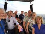 Verbluffende luchtballonvaart vanaf startlocatie Veenendaal vrijdag 6 juli 2018