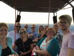 Geweldige ballonvlucht over de regio Veenendaal vrijdag 6 juli 2018