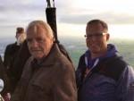 Fascinerende ballonvlucht vanaf startveld Alphen aan den rijn op woensdag 1 mei 2019