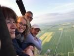 Ultieme ballon vlucht gestart op opstijglocatie Alphen aan den rijn op woensdag 1 mei 2019