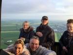 Ongelofelijke mooie luchtballonvaart vanaf startveld Alphen aan den rijn op woensdag 1 mei 2019