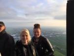 Schitterende ballonvlucht vanaf startveld Alphen aan den rijn op woensdag 1 mei 2019