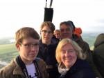 Majestueuze ballonvlucht startlocatie Alphen aan den rijn op woensdag 1 mei 2019